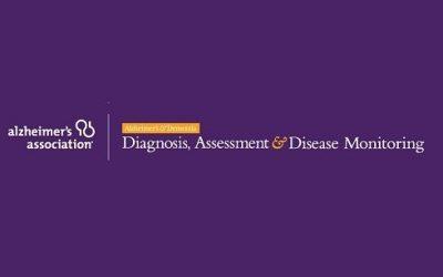 Publication in Alzheimer's & Dementia: DADM