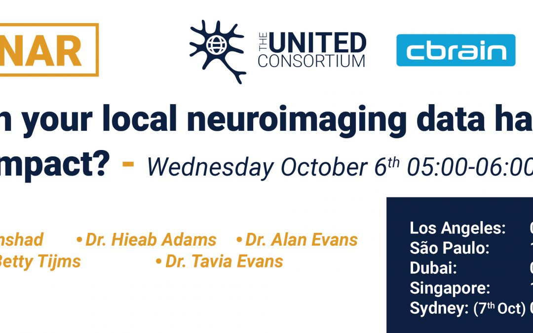 WEBINAR: How can your local neuroimaging data have global impact?